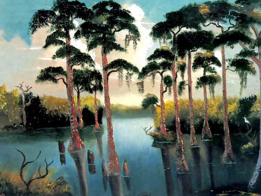 Езекий Бейкер. Тропический пейзаж 2