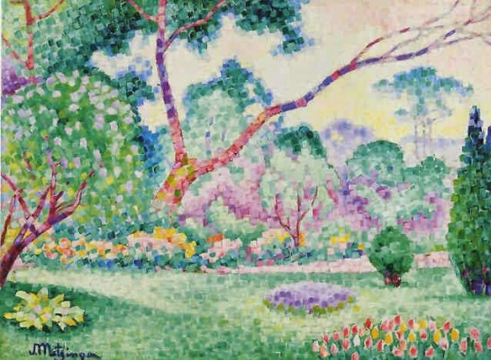 Jean Metzinger. Paris, the Parc Monceau