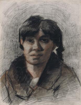 Vincent van Gogh. Portrait of a woman