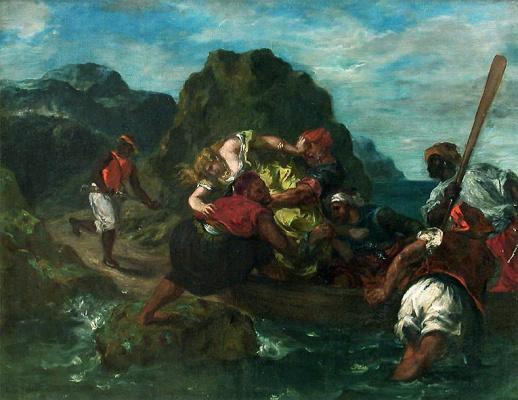 Эжен Делакруа. Африканские пираты