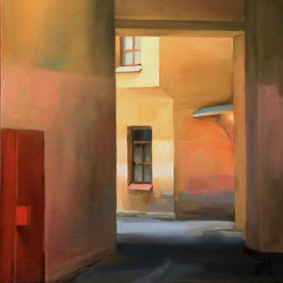 "Irina Bogdanova. Gateway 2. From the series ""Portals"""