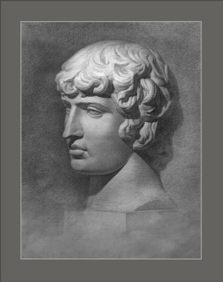Sushienok64 @ mail.ru Mikhailovich Sushenok Igor. The head of Antinous.