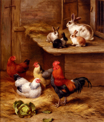 Эдгар Хант. Маленькие кролики