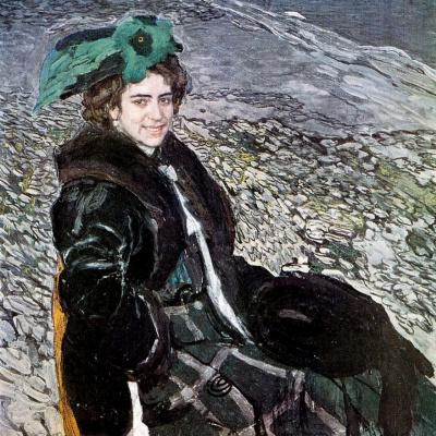 Alexander Yakovlevich Golovin. Portrait Of E. A. Smirnova