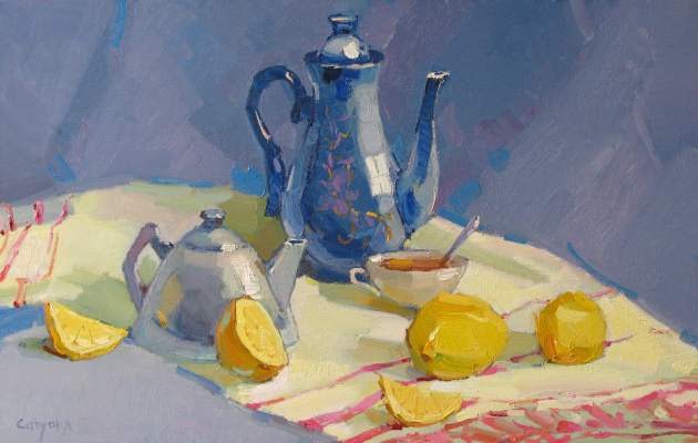 Сергей Ступка. Лимон к чаю