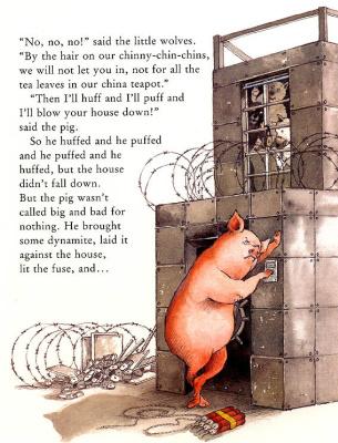 Helen Ochenburu. Three little wolf and the big bad pig 2