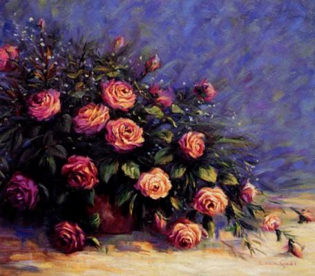 Моник Госслин. Очарование роз