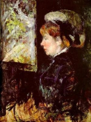 Mary Cassatt. Visitor