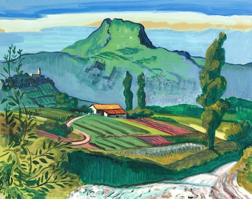 Max Pehshtein. French village