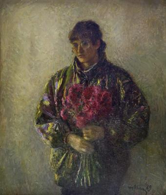Татьяна Ниловна Яблонская. Осенний портрет (Портрет Гаяне Атаян)