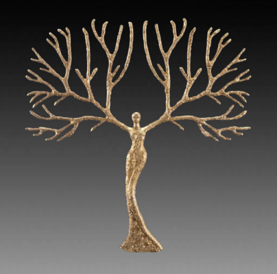 "(no name). Sculpture ""Tree of Life"""