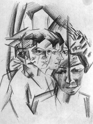 August Macke. Face