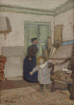 Jean Edouard Vuillard. The First Steps