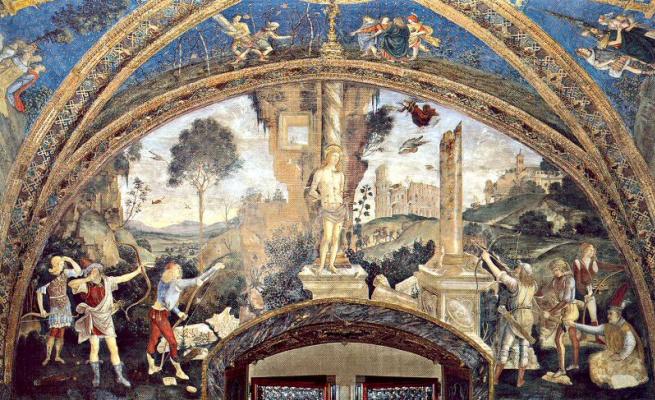 Pinturicchio. The Savior