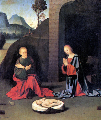 Джованни Баттиста Ортолано. Рождество