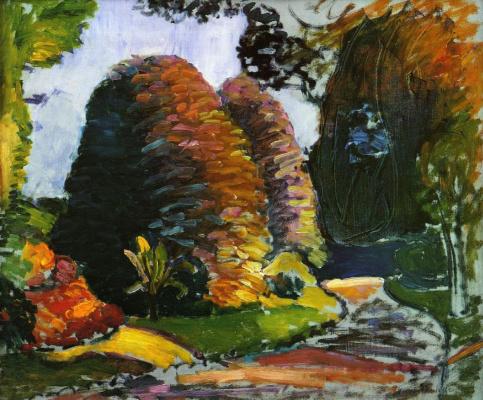 Henri Matisse. Luxembourg Gardens