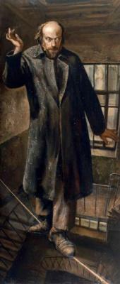 Vasily Vladimirovich Shulzhenko. Above the precipice