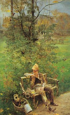 Jacek Malchevsky. Artist boy