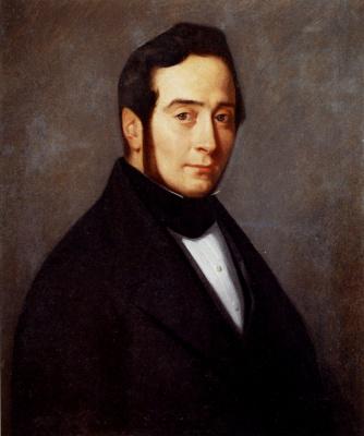 Jean-François Millet. Portrait of Eugene Canoville