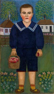 Якилина Ярмоленко. Мальчик в синем