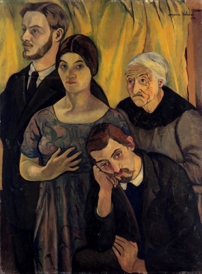 Suzanne Valadon. Семейный портрет. 1912