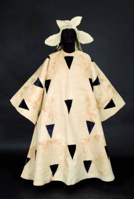 Henri Matisse. Costume for a Mourner in the ballet Le Chant du Rossignol