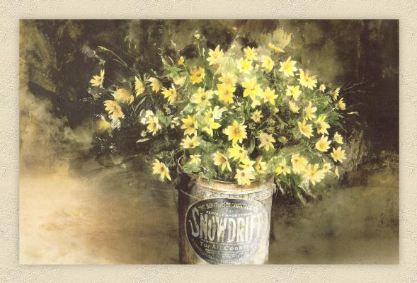 Хьюберт Шуптрин. Желтый букет