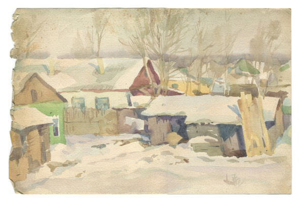 Alexandrovich Rudolf Pavlov. North-West of Chelyabinsk, 1977
