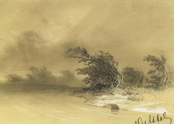 Буря на озере