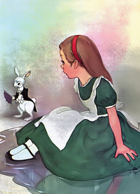 Marjorie Torrey. Who is this white rabbit