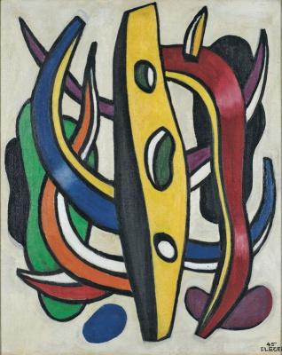Fernand Leger. Plant