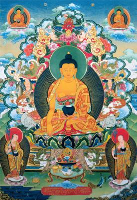 Nikolay Dudko. Buddha of the three times