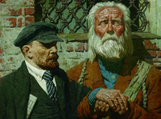 Heliy Mikhailovich Korzhev. The conversation