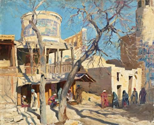 Alexey Vladimirovich Isupov. Samarkand. Jewelry series. 1920