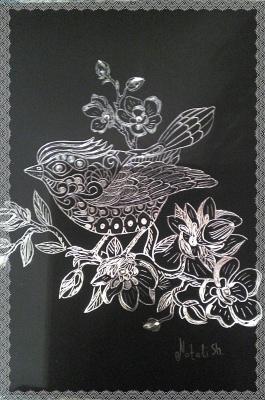 Natalie Shaposhnikova. The bird of happiness