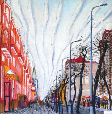 Sergey Viktorovich Solomatin. Clouds