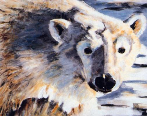 Мишлин Трамбле. Белый медведь