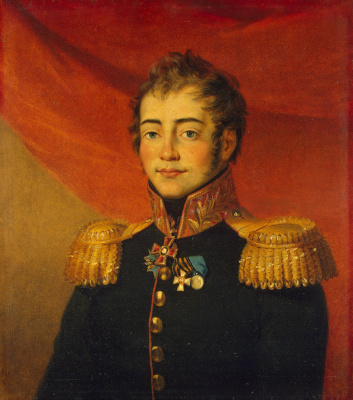 George Dow. Portrait of Dmitry Petrovich Lyapunov