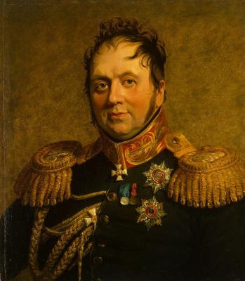 George Dow. Portrait Of Fyodor K. Korff