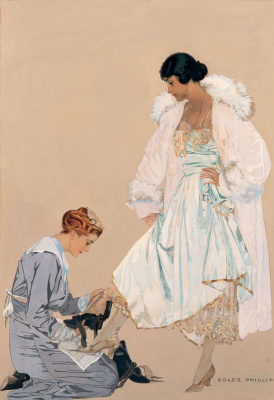 Clarence Coles Phillips. High fashion