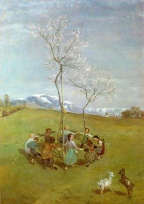 Ганс Тома. Весна в горах. Танец детей