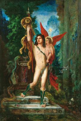 Gustave Moreau. Jason and Eros