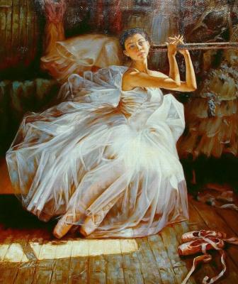 Гуань Зе-Джу. Балерина 2