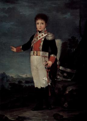 Франсиско Гойя. Портрет дона Себастьяна Габриеля де Борбона-и-Браганца
