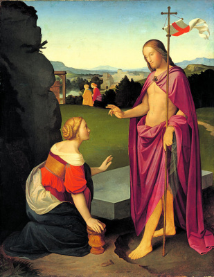 Johann Friedrich Overbeck. Easter Morning