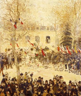 Жан-Франсуа Рафаэлли. Праздник в честь 80-летия Виктора Гюго