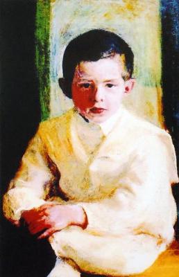 Михаил Львович Бойчук. Портрет Адама Жеромского.
