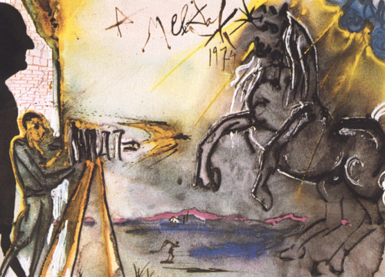 Salvador Dali. For Broke