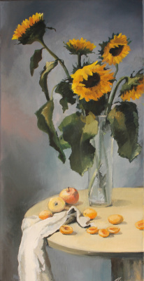 Alessia Lisenko. Sunflowers