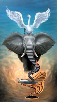 Beklan Kizilcay. Elephant Ladder